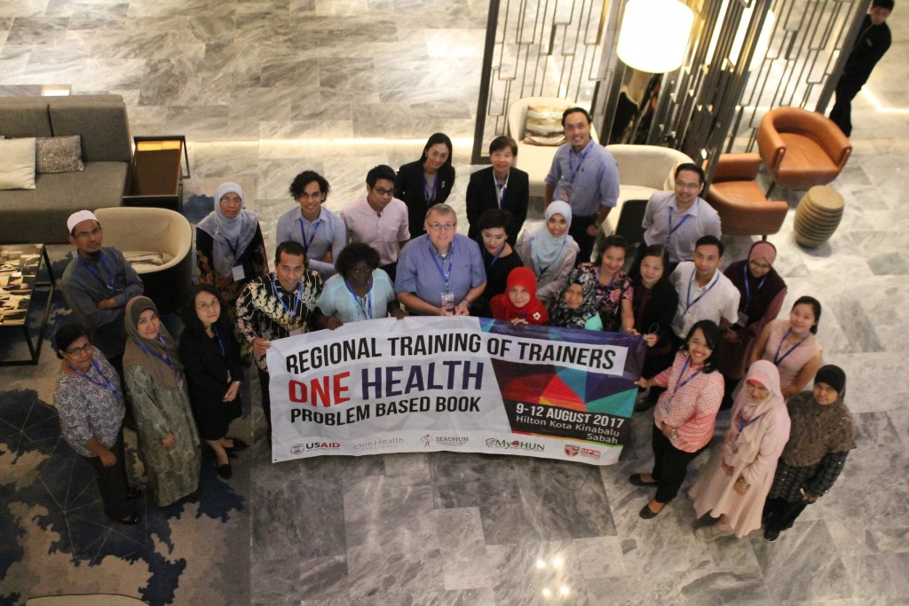 Trainers and Participants of ToT: One Health Problem Based Learning