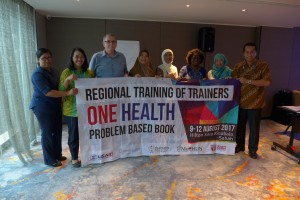 Indonesian Participants and Trainers of One Health PBL